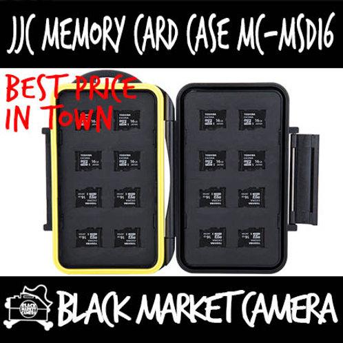 JJC MC-MSD16 Memory Card Case (16MSD)