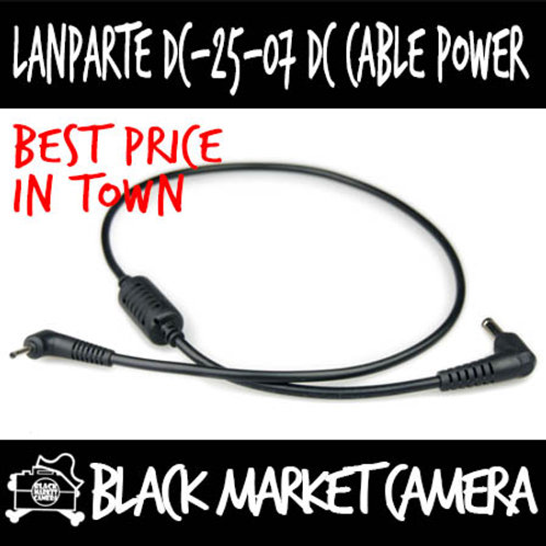 LanParte DC-25-07 DC Cable Power Supply for BMPCC