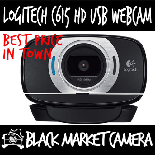 Logitech C615 HD USB Webcam for Streaming / Video Conferencing *Local Warr