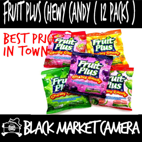 Fruit plus and Mint plus Chewy Candy [150gx12packs] *BULK QUANTITY*