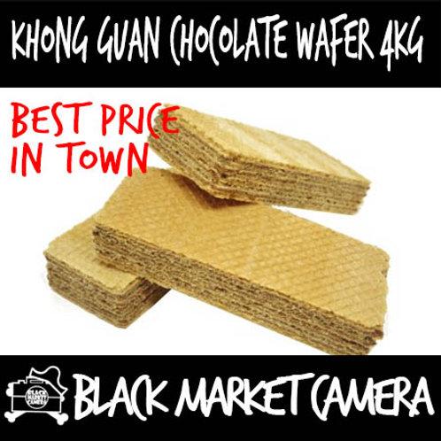 Khong Guan Chocolate Wafer (4kg) (Snack) BULK PURCHASE
