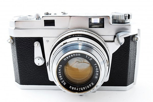 Konica III Compact Film Rangefinder (used)