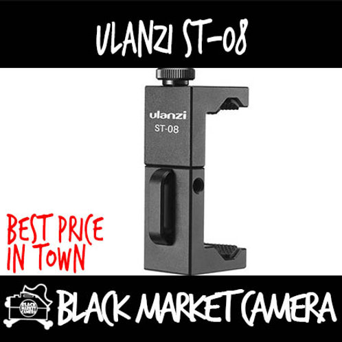 Ulanzi ST-08 Phone Mount & Side Grip for Wireless Microphone