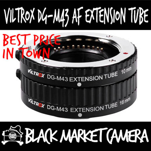 Viltrox DG-M43 (Micro 4/3) AF Macro Extension Tube *2 Piece Set