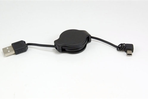 Mini USB cable (retractable)
