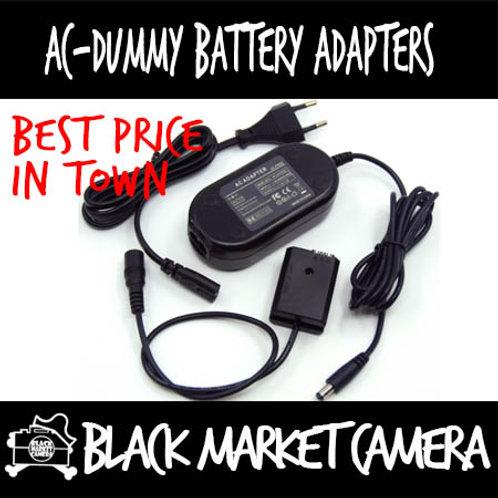 AC to Dummy Battery Adapter DWM-AC8+DCC8 for Panasonic BLC12