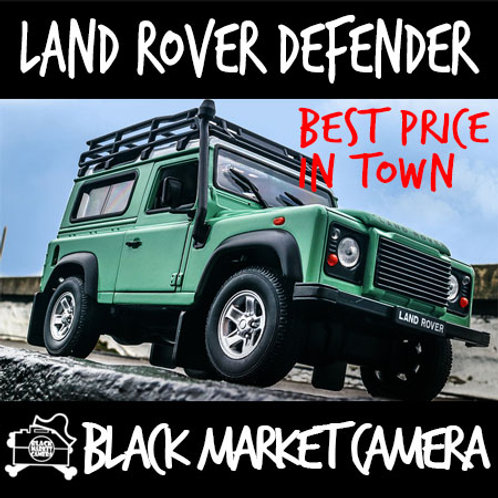 Welly 1:24 Land Rover Defender Car Model