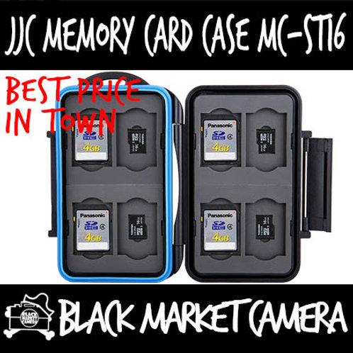 JJC MC-ST16 Memory Card Case (8SD 8MSD)