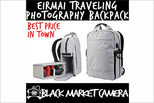 EIRMAI DQ310 Digital SLR Camera Waterproof Traveling Photography Backpack