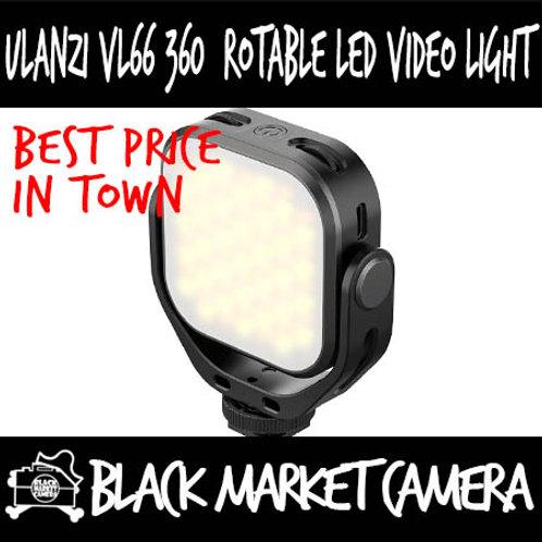 Ulanzi VL66 360° Rotable LED Video Light