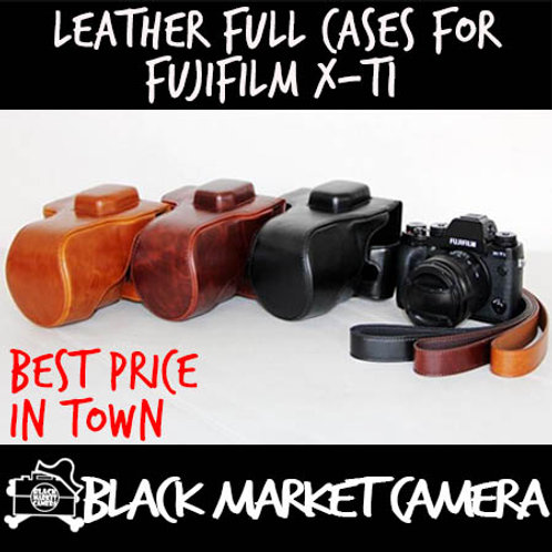 Leather Full Cases for Fujifilm X-T1