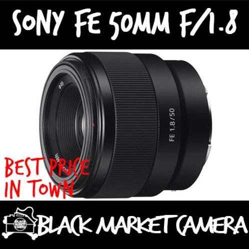 Brand New Sony FE 50mm F1.8 Lens