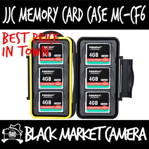 JJC MC-CF6 Memory Card Case (6CF)