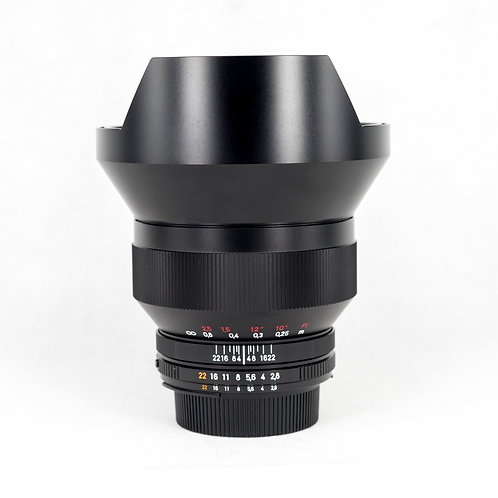 Carl Zeiss Distagon T* 15mm F2.8 ZF.2 Nikon Mount (used)