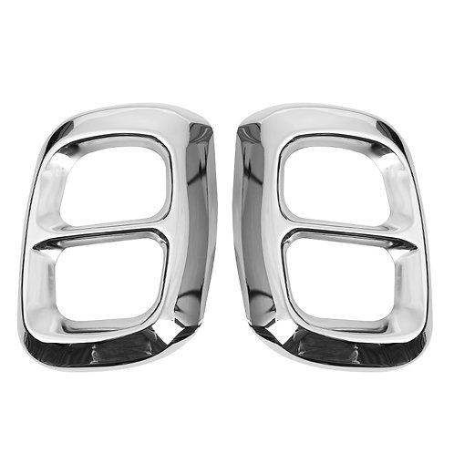 Mercedes Benz dual exhaust muffler cover  trim gla - silver