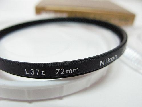 Nikon L37c UV / L1Bc Skylight Filter 72mm (used)