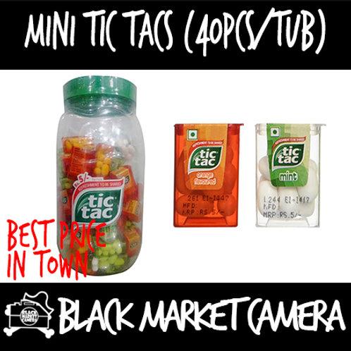 Mini Tic Tacs (Buk Quantity, 2 Tubs for $36)
