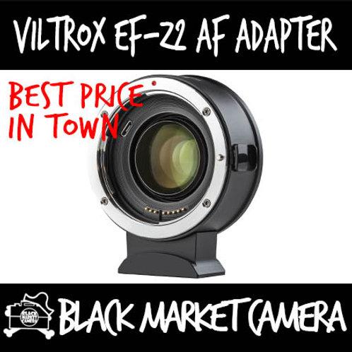 Viltrox EF-Z2 AF Adapter for EF Lens to Nikon Z Camera (Contacts/0.71X)