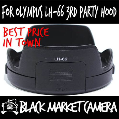 For Olympus LH-66 Third Party Hood