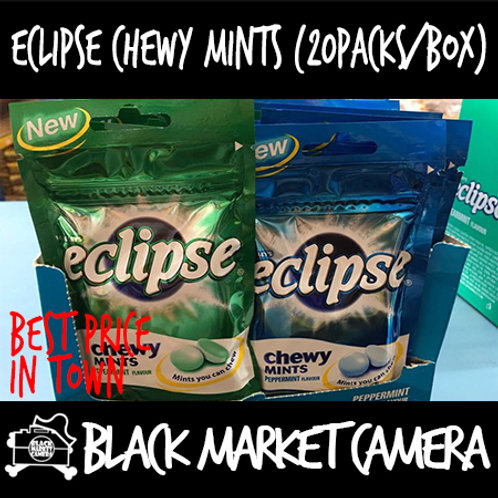 Eclipse Chewy Mints (Bulk Quantity, Box of 20)   Avail in Peppermint & Spearmint