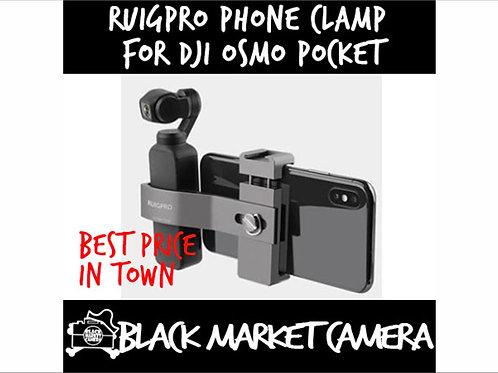 Ruigpro Phone Clamp for DJI OSMO Pocket