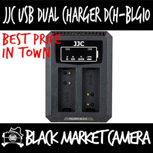 JJC DCH-BLG10 USB Charger for Panasonic DMW-BLG10/BLE9/Leica BP-DC15