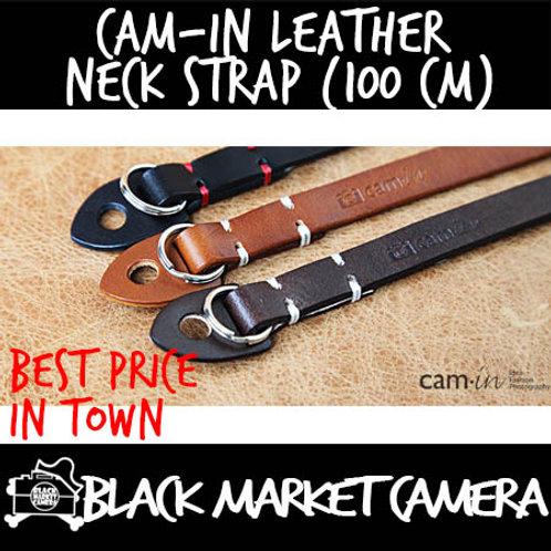 Cam-in Leather Neck Strap (100 cm)