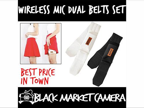 BOYA BY-MB2 Wireless Mic Dual Belts Set