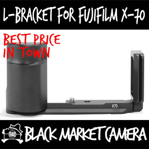 L-Bracket Quick Release Plate for Fujifilm X-70