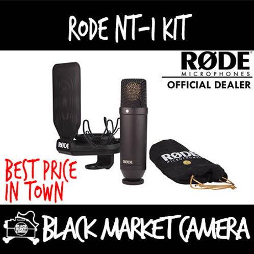 Rode NT-1 Kit Cardioid Condenser Microphone w SMR Shockmount