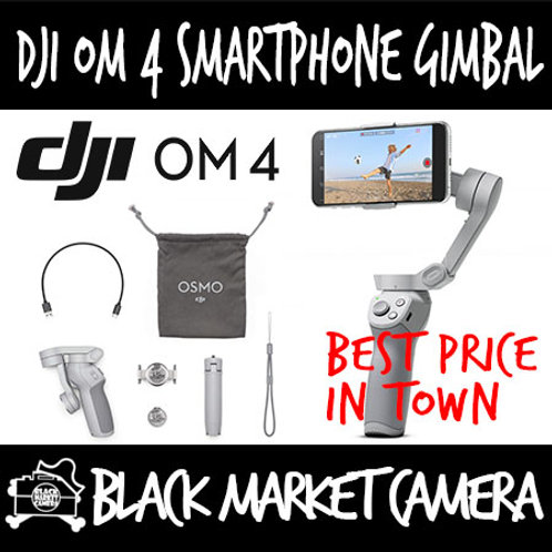 DJI Osmo Mobile 4 - OM4 Smartphone Gimbal Stabilizer *Demo set in store.*