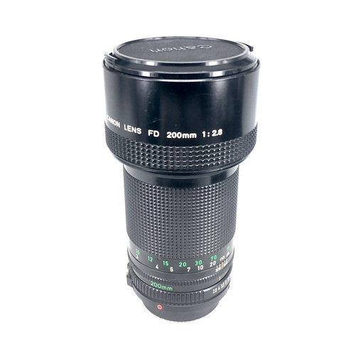 Canon New FD 200mm F2.8 (used)