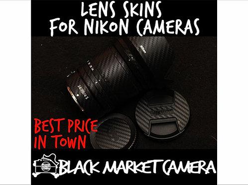 Lenses Skins for Nikon 20/24/35/85/105/70-200/24-70/80-200mm & Z14-30mm/24-70mm