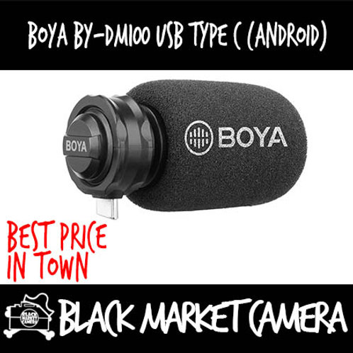 Boya BY-DM100 USB Type-C Digital Stereo Condenser Microphone (for Android)