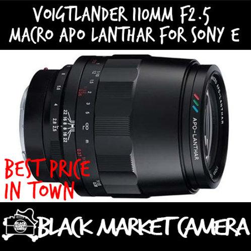 Voigtlander 110mm F2.5 Macro APO Lanthar For Sony E Mount