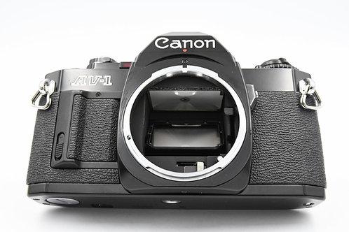*SOLD* Canon AV-1 (Black) FD Mount Film SLR (used)