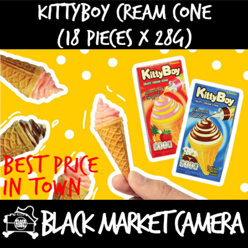 Kittyboy Cream Cone (Bulk Quantity, 18 Boxes x 28g)