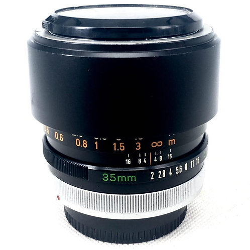 Canon FD 35mm F2 (used)