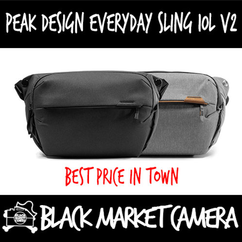Peak Design Everyday Sling 10L V2 | Available in Black & Ash