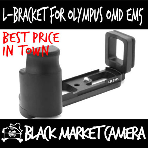 Olympus OM-D E-M5 L-Bracket Quick Release Plate