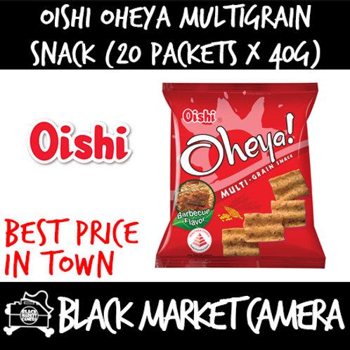 Oishi Oheya Multigrain Snack (Bulk Quantity, 20 Packets x 40g)