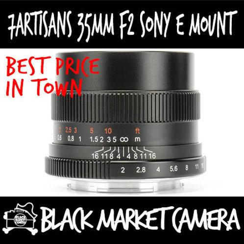 7Artisans 35mm F2 Sony E Mount