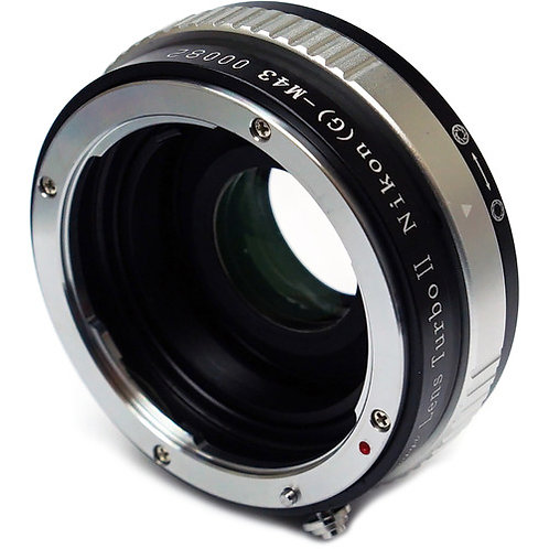 Mitakon Zhongyi Nikon F Mount G Lens to Micro Four Thirds Camera Lens Turbo