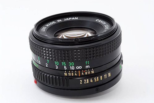 Canon New FD 50mm F2 (used)