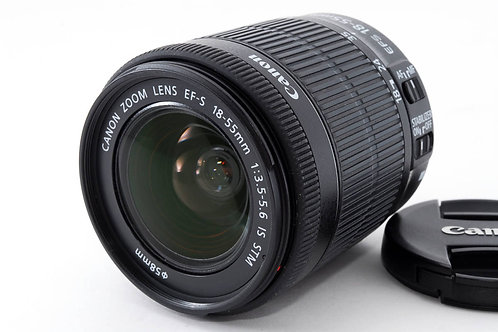 Canon EFS 18-55mm F3.5-5.6 IS STM (used)