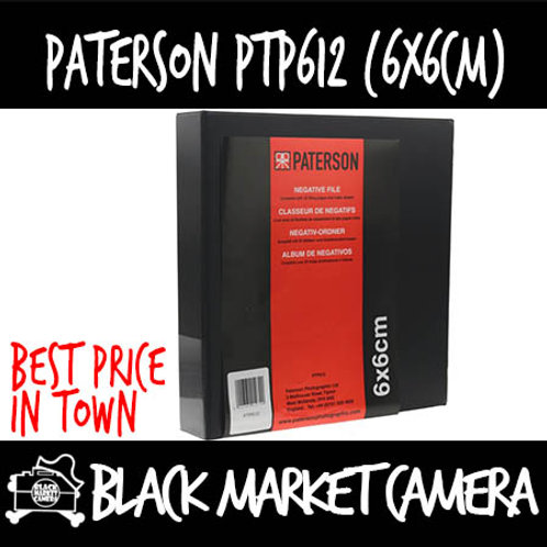 Paterson PTP612 6x6 Negative Filing System