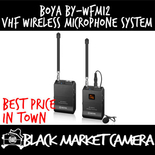 BY-WFM12 VHF Wireless Microphone System