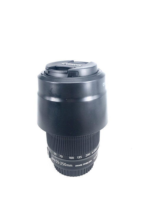 Canon EFS 55-250mm f4-5.6 IS STM