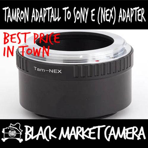 Tamron Adaptall Lens to Sony E (NEX) Body Adapter