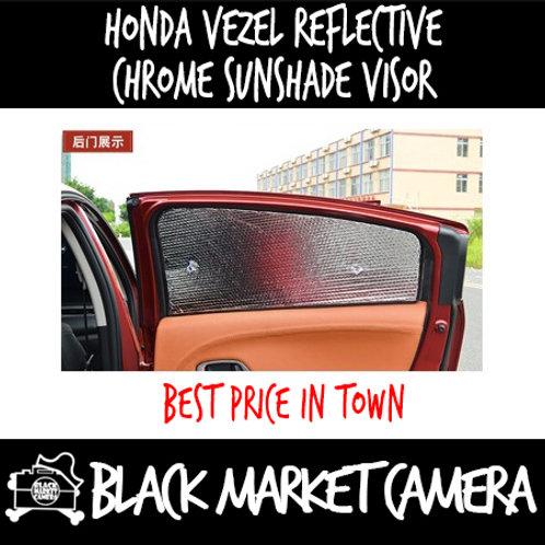 Hoda Vezel reflective chrome sunshade visor